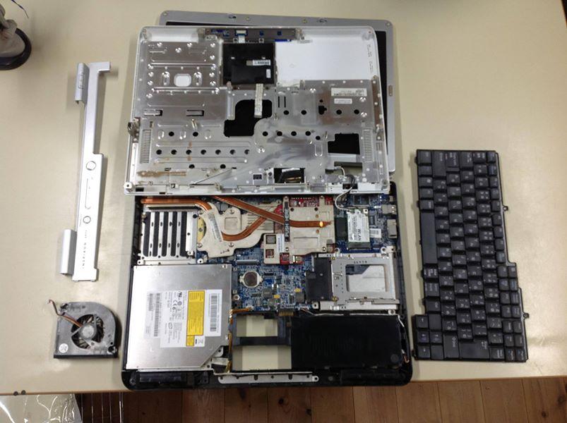 Dellノートパソコン修理