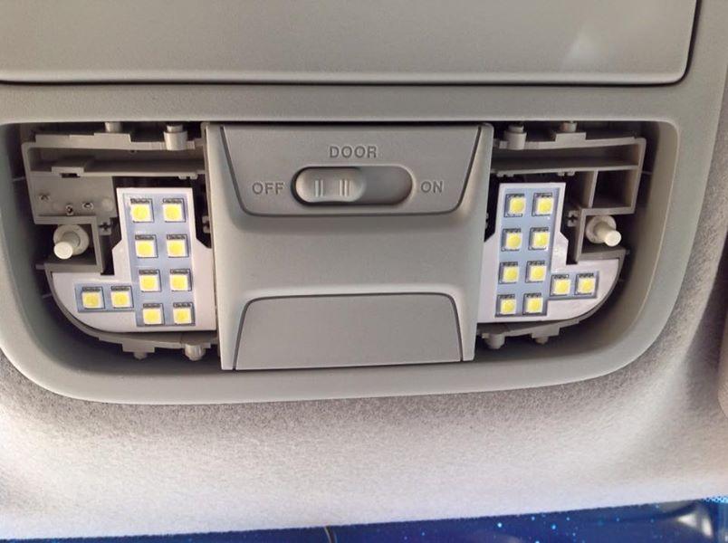 車内灯LED化