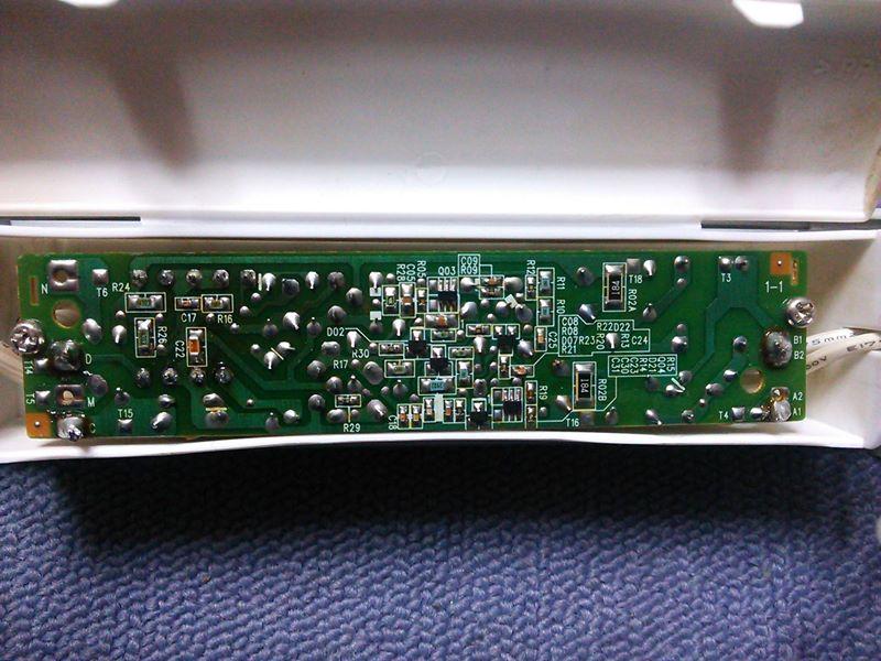 デスクライト修理