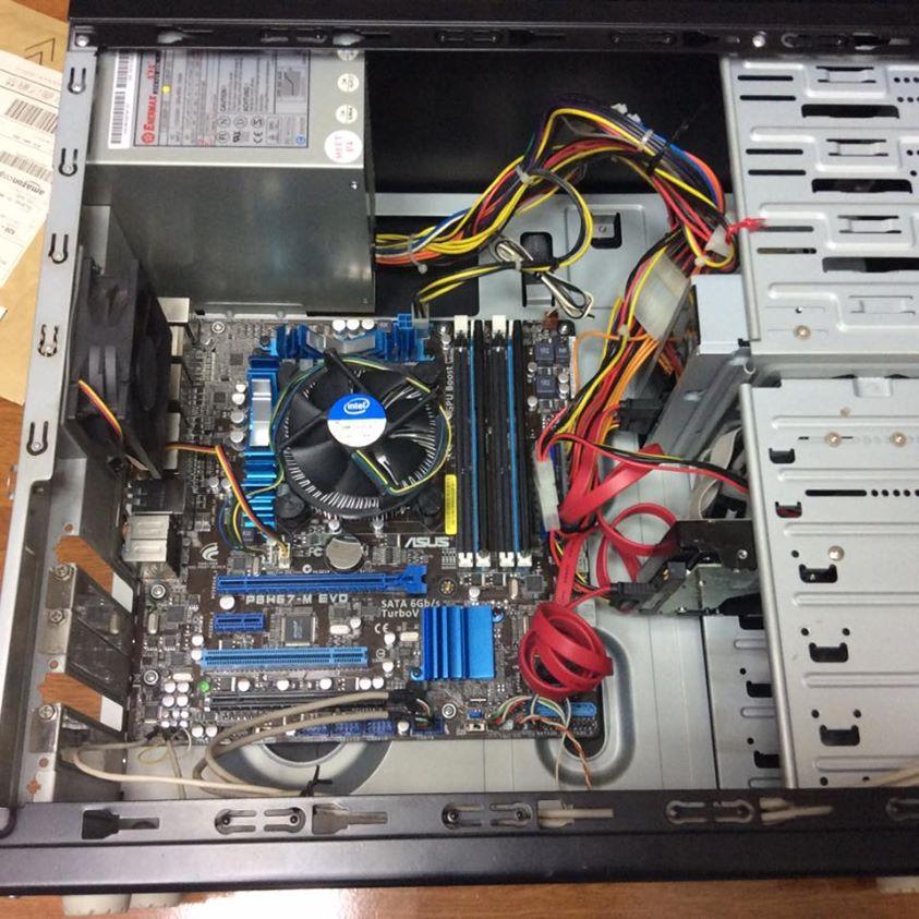 パソコン修理(ASUS P8H67-M EVO使用)