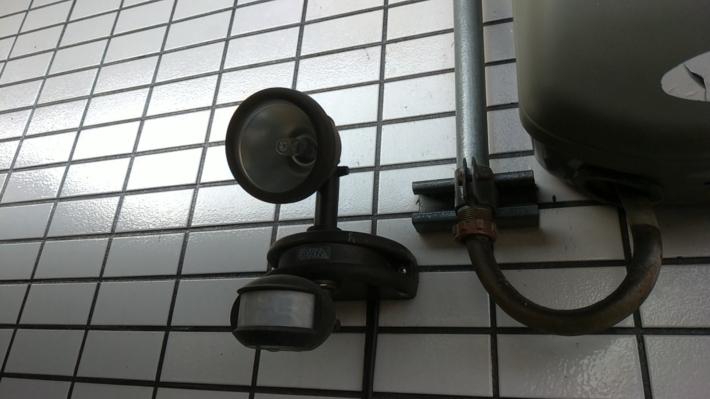 LEDセンサーライト2