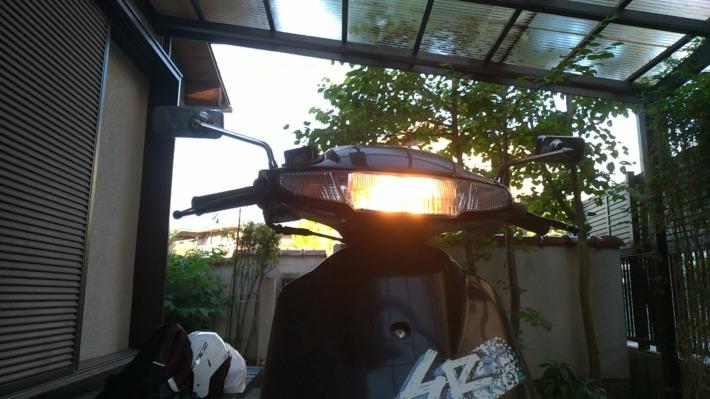 Dioヘッドライト